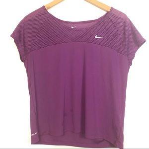 Nike Dri-Fit Purple Active Workout T Shirt
